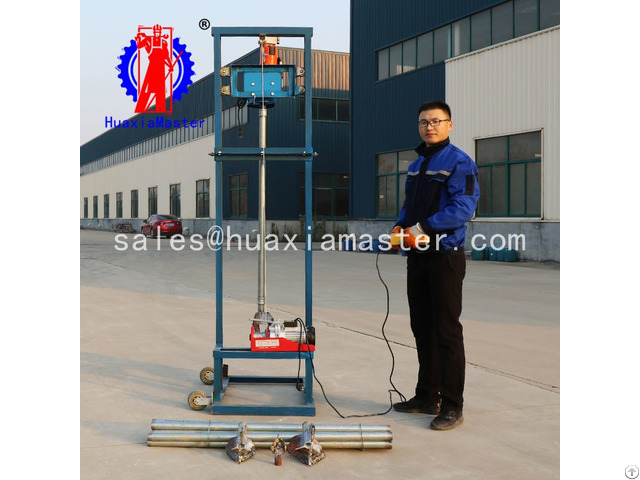 Sjd 2b Collapsible Electric Water Well Drilling Rig