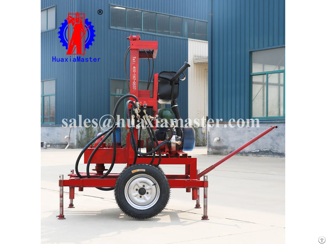 Sjdy 3 Three Phase Electric Full Hydraulic Water Well Drilling Rig