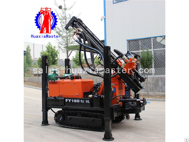 Fy180 Crawler Pneumatic Water Well Drilling Rig