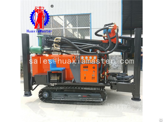 Fy260 Crawler Pneumatic Water Well Drilling Rig
