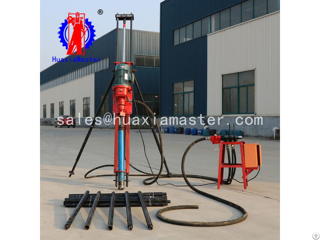 Kqz 70d Pneumatic Electric Dth Drilling Rig