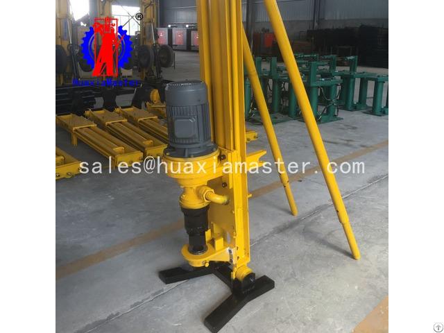 Kqz 100d Pneumatic Electric Dth Drilling Rig
