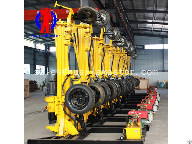 Kqz 200d Pneumatic Electric Dth Drilling Rig