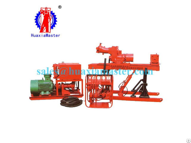 Zdy 1900s Full Hydraulic Tunnel Drilling Rig