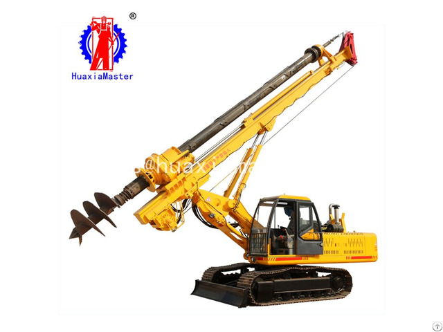 Xwl15 Meters Wheeled Rotary Pile Drilling Rig