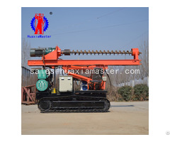 Double Seat Long Spiral Pile Driver