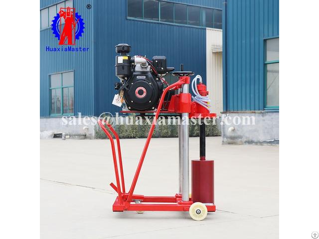 Hzc 20 Diesel Engine Concrete Core Drilling Rig