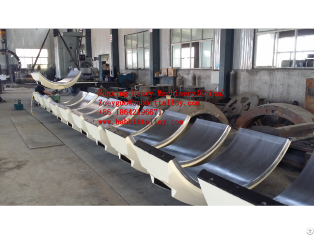 Babbit Ball Mill Bearing Manufacturer Directly China Oem According To The Drawings