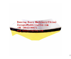 Babbitt Rotary Kiln Bearing Chinese Manufacturer Drawings Customized