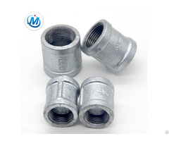 Pipe Fitting Reducing Bs Thread Plain End With Bib Equal Malleable Iron Socket