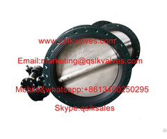 Worm Gear Soft Seated Concentric Butterfly Valve