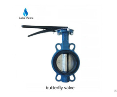 Manual Butterfly Valve Wafer Type