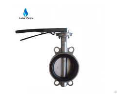 Butterfly Valve Wafer Type Manual Low Temperature