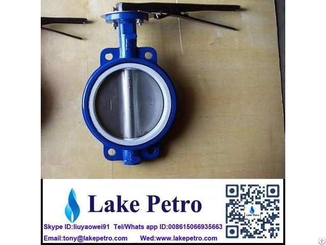 Butterfly Valve Wafer Type Seal Nbr