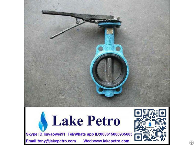 Butterfly Valve Manual Wafer Type For Drilling Mud