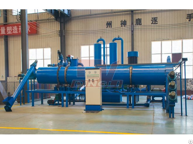 Continuous Wood Charcoal Powder Production Line