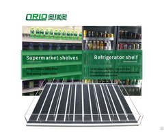 Supermarket Display Merchandise Shelf Pusher System Flex Gravity Roller