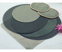 Filtering Wire Cloth Disc