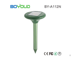 Multifunction Patent Product Solar Mole And Snake Repeller