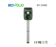 Newest Ultrasonic Animal Repeller With Flash Light