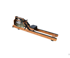 Double Barrel Adjustment Water Resistance Dual Track Rowing Machine Cm 718