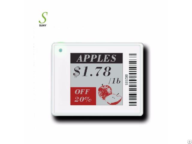 Suny 1 54inch Digital E Ink Epaper Esl Electronic Shelf Label Price Tag