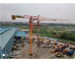 Qtp200 Tct7021 Trustworthy Self Erecting Fixed Hydraulic Construction Building Tower Crane