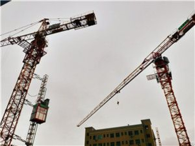 Qtp250 Tct7521 Trustworthy Self Erecting Fixed Hydraulic Construction Building Tower Crane