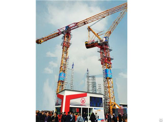Qtp315 Tct7530 Trustworthy Self Erecting Fixed Hydraulic Construction Building Tower Crane