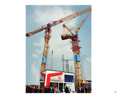 Qtp315 Tct7530 Trustworthy Self Erecting Fixed Hydraulic Construction Building Tower Crane