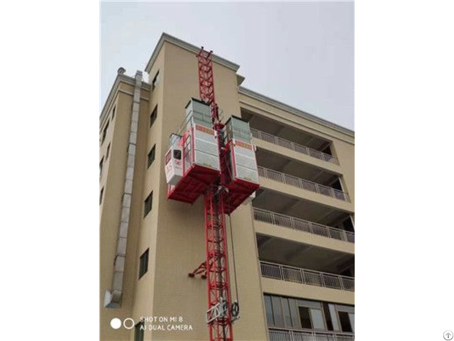 Product 2 7tons Capacity High Speed Height Building Construction Crane Hoist