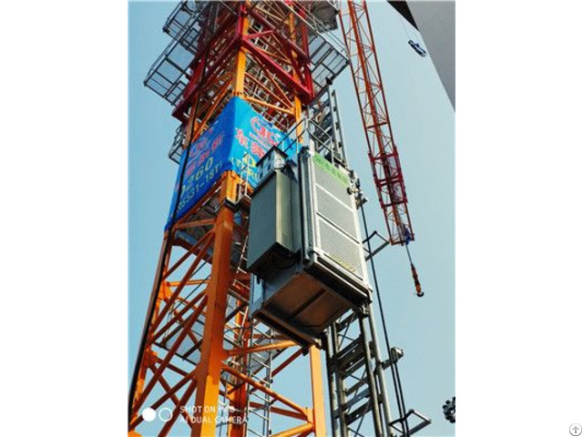 Rated Lifting Speed Building Construction Equipment Mini Hoist