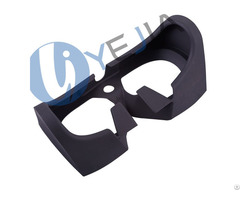 Lightweight Ultra Soft Lsr Injection Molding Silicone Vr Light Shield