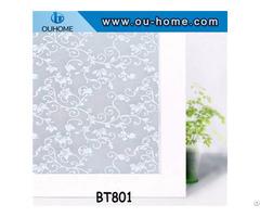 Bt801 Pvc Self Adhesive Glass Window Film