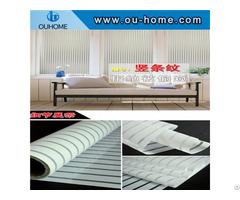 Bt802 Office Stripe Decoration Privacy Window Film