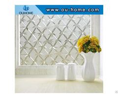 Bt6201 Pvc Bamboo Sparkling Glass Decorative Window Film