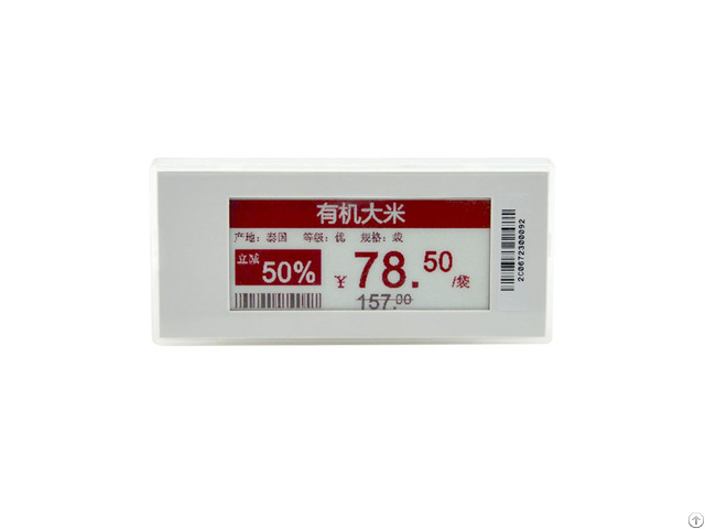 Supermarket Display Price Tag E Ink Esl Electronic Shelf Label