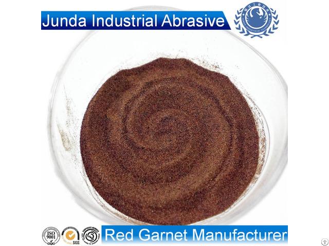 Abrasive Garnet Sand 80 Mesh For Waterjet Cutting Steel
