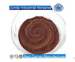 Abrasive Garnet Sand 80 Mesh For Waterjet Cutting Steel