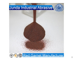 Garnet Sand 30 60 Mesh Abrasives For Oil Tank Rust Sandblasting