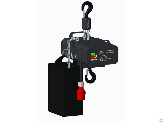 Electric Hoist With 2t Aluminum Shell