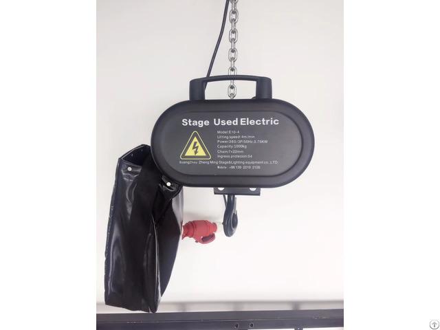 Aluminum Stage Electric Hoist