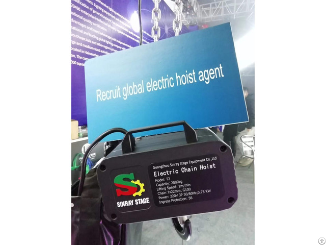 High Strength Electric Hoist For Stage