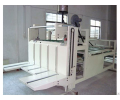 Semiautomatic Corrugated Carton Folding Gluing Machine