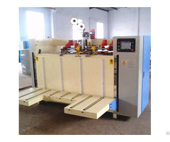Semi Auto Corrugated Carton Stitching Machine