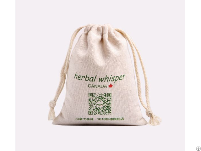 Herbal Package Cotton Pouch