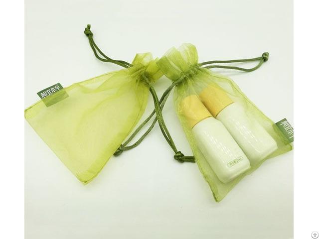 Organza Cosmetic Drawstring Pouch