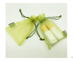 Organza Cosmetic Drawstring Pouch