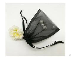 Black Organza Gift Bag