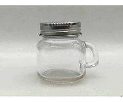 Custom Glass Jars With Lids B150